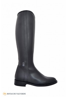Black English boot